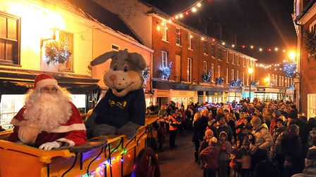 Halesworth has always 'done Christmas' well. This is the 2010 fun. The 2019 switch-on is on November