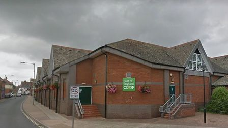 Police were called to the Coop in Sizewell Road, Leiston, to reports of a burglary Picture: GOOGLE M