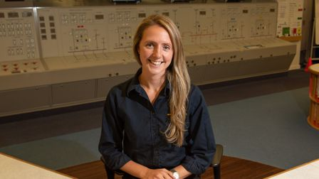 Katie Bannister is a control room engineer and reactor operator Sizewell B Picture: SARAH LUCY BRO