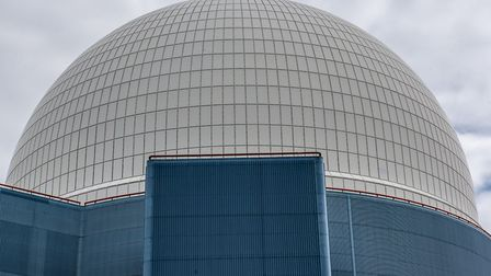 The famous white dome at Sizewell B Picture: SARAH LUCY BROWN