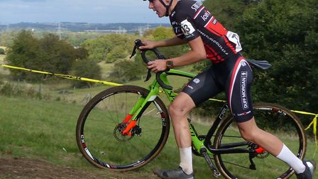 Angus Toms (Iceni Velo) – second overall and first Junior at the CC Ashwell event. Picture: FERGUS M