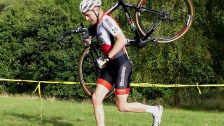 Chelmsford rider Sean Dunlea – striding up the results. Picture: FERGUS MUIR
