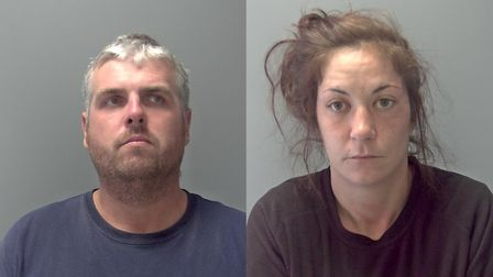 Andrew Hay and Fay Clerkin were jailed for 16 months for attacking a woman, in front of her nine-yea