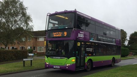 The 94 bus is a lifeline for residents in Tattingstone and Bentley. Picture: KATE SPICER