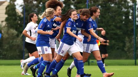 Ipswich Town Women progressed to the Third Round Qualifying stage of the Women'�s FA Cup after beati