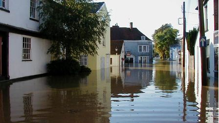 Flooding in Coggeshall in 2001 Picture: ENVIRONMENT AGENCY