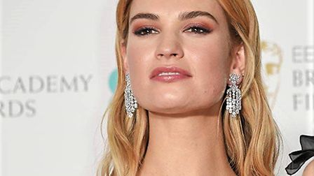 Lily James has just been announced as the next big name to join the cast of Suffolk's Netflix filmTh
