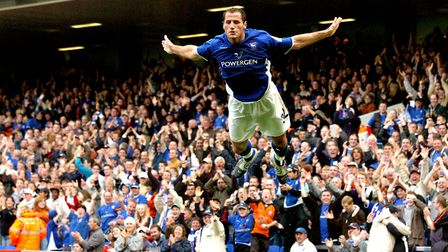 Shefki Kuqi was among the scorers on this day in 2004