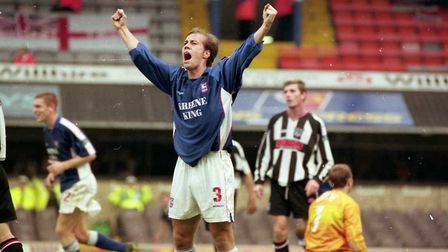 Jamie Clapham scored as Town beat Grimsby 2-0 on this day in 1998