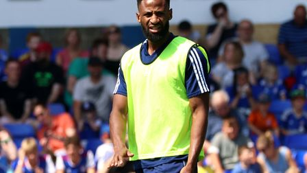 Janoi Donacien hasn't played in a league game since mid-August. Picture: ROSS HALLS