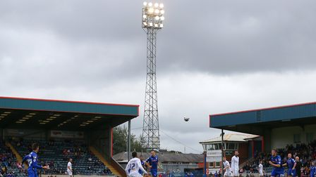 Under the lights at Spotland. Ipswich Town will have that experience for the first time tonight. Pic