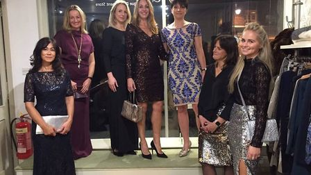 Fanny and Frank ladies boutique in Woodbridge holds a fashion show twice a year in aid of charity. P