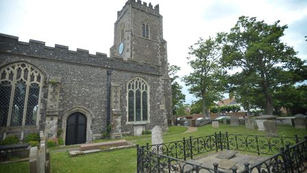 Aldeburgh Church is part of the Alde Sandlings Benefice which Mark Lowther is the Rector for. Pictur