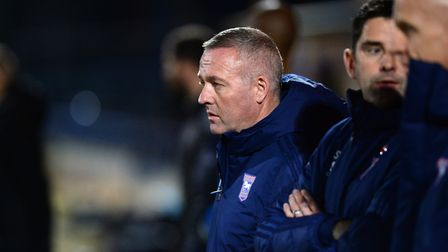 Ipswich Manager Paul Lambert at Rochdale Picture Pagepix