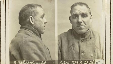 A photo of Joe Whistlecraft taken before one of his stints in jail Picture: PIP WRIGHT