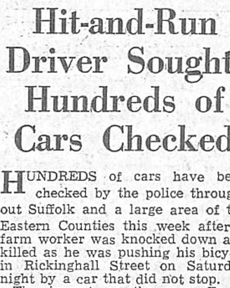 A press cutting from August 22, 1958, reporting the investigation into the death of Ernest Whistlecr