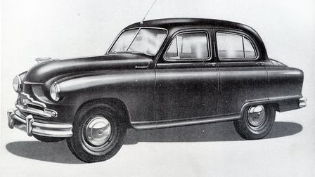 The car involved was described as being similar to a Standard Vanguard Picture: MICK HOWES