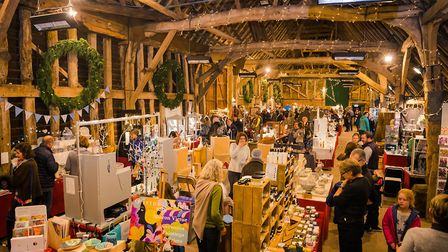 Blackthorpe Barn's showcase for innovative craft work which runs for five weekends from November 9