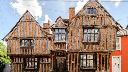 De Vere House in Lavenham which is still up for sale two years after it was first put on the market.