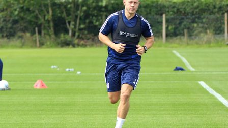 Danny Rowe was made to train with the Under-23s by previous boss Paul Hurst. Photo: Ross Halls