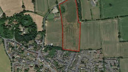 A plot of land with permission to build 96 home is up for sale for £5 million. Picture: GOOGLE MAPS