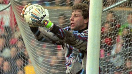 Dimitri Kharine, formerly of Chelsea, is the Hemel goalkeeping coach. Picture: PA