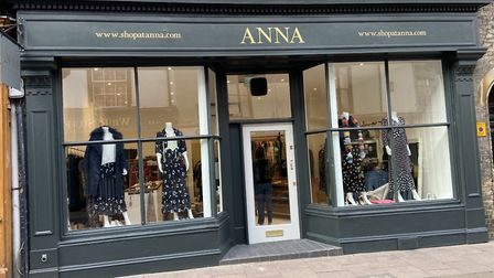 Anna's new flagship store in Abbeygate Street, Bury St Edmunds Picture: ANNA
