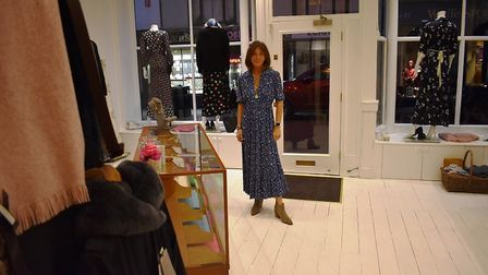 Anna Park at her new flagship store in Abbeygate Street, Bury St Edmunds Picture: JOHN NICE
