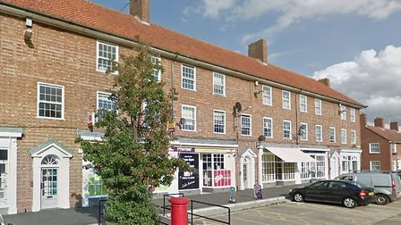 The parade of shops in Lake Avenue, Bury St Edmunds Picture: GOOGLE