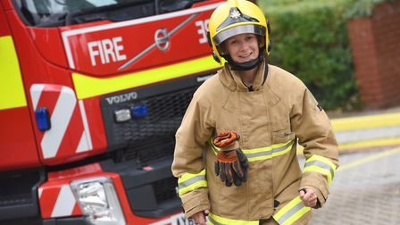 Alice Guyett, who with Sally Hammond established Suffolk Women in Fire Together network Picture: GR