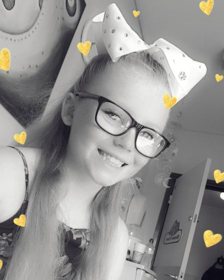 Lexi-May Angel, who has the condition cystic fibrosis, is a nominee in Outstanding Bravery of the Ye