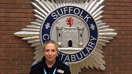 Teresa England - Police Person of the Year