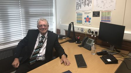 Mick Rainbird had worked for Suffolk Police for 52 years Picture: MICHAEL STEWARD