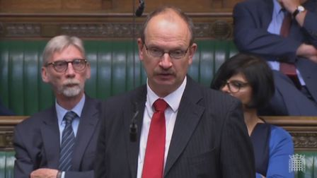 Ipswich MP Sandy Martin has described Suffolk's SEND services as failing Picture: PARLIAMENT LIVE