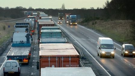 Jon Underwood drove the wrong way on the A14 at Trimley Picture: ARCHANT