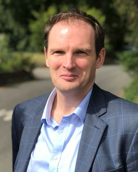 Dr Dan Poulter has waded into a planning row in Somersham Picture: NEIL PERRY