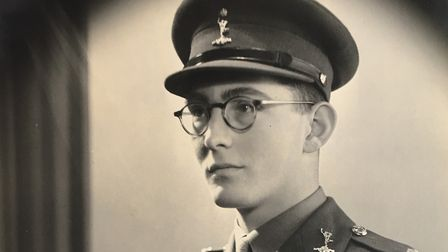 Second Lieutenant JF Reed, The Royal Signals Picture: FAMILY COLLECTION