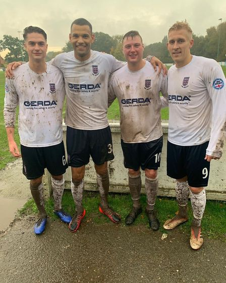 Four of the squad have been called up to represent England Fire and Rescue Service Picture: SUFFOLK