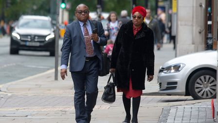 Dr James Ugbo, pictured with his wife Patience Picture: CAVENDISH PRESS (MANCHESTER) LTD