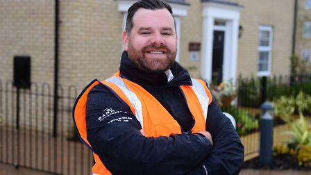 Barratt Developments building site manager James Wells has won a regional Pride in the Job award fro