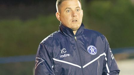 Ian Cornforth, who has stood down as Leiston boss. He was only appointed on September 16, less than