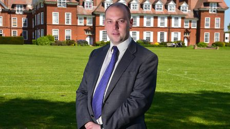 Headteacher James Harrison said that pupils had not been put at risk at the school Picture: Nick B