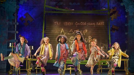 Annie, the musical about a feisty red-haired orphan girL Picture: Ipswich Regent
