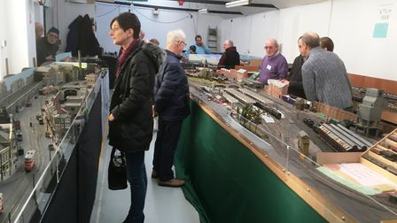 The Ipswich Railway Modellers' Association hold their annual exhibition this weekend. Picture: PAUL