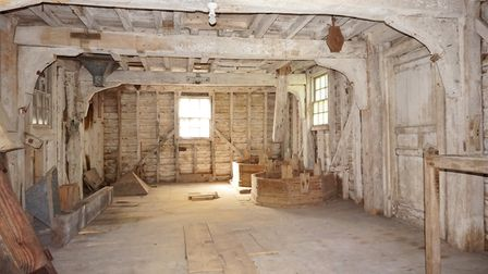 Historic Shirburn Mill is now in need of restoration. Picture: AIDAN GRIER