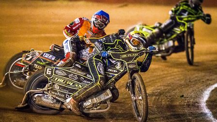 Jake Allen was a busy man during last night's meeting. Picture: Taylor Lanning