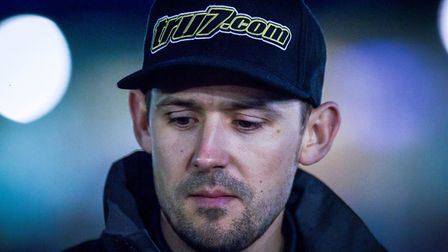 Danny King, pictured prior to the meeting between Ipswich Witches and Swindon Robins. Picture: Taylo