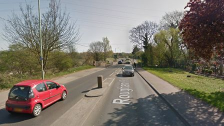 Rougham Road, where the bridleway will be redeveloped Picture: Google Maps
