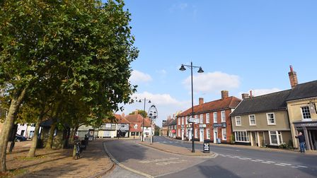 The Suffolk village that starred in the advert Picture: Archant