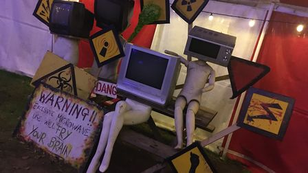 Scaresville is a weird but wonderful place Picture: RACHEL EDGE